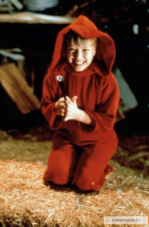Casper Meets Wendy (1998) - Hilary Duff as Wendy - I was obsessed with her all red room!