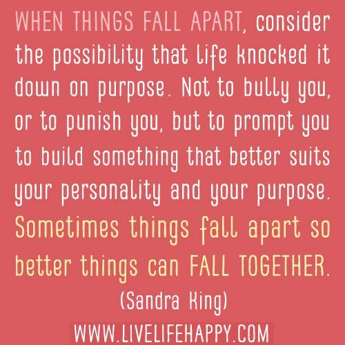 1000+ ideas about Falling Apart on Pinterest | Pema chodron, Quotes and Good mental health