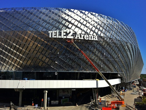 Tele2 Arena, new home of Hammarby IF