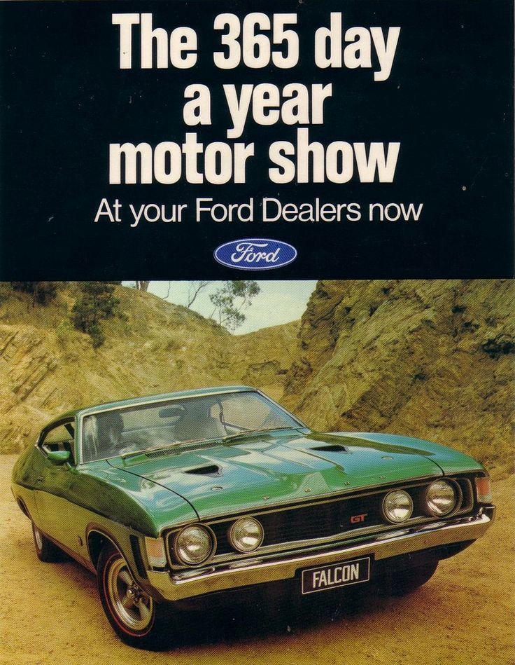 Ford XA Falcon GT Hardtop Ad (Australia)