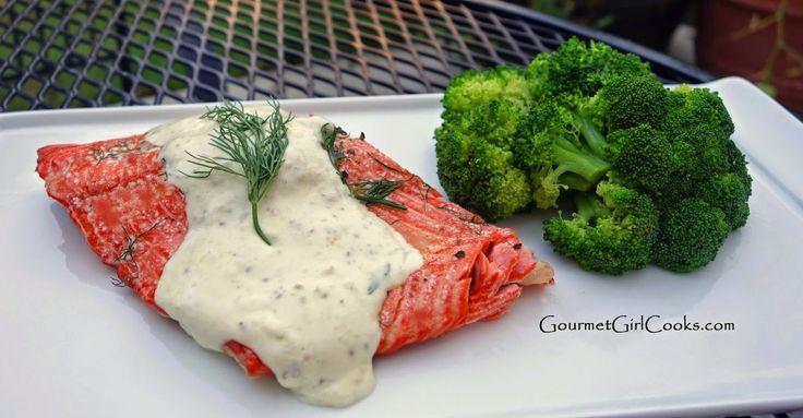 Paleo Salmon with Dijon Cream Sauce