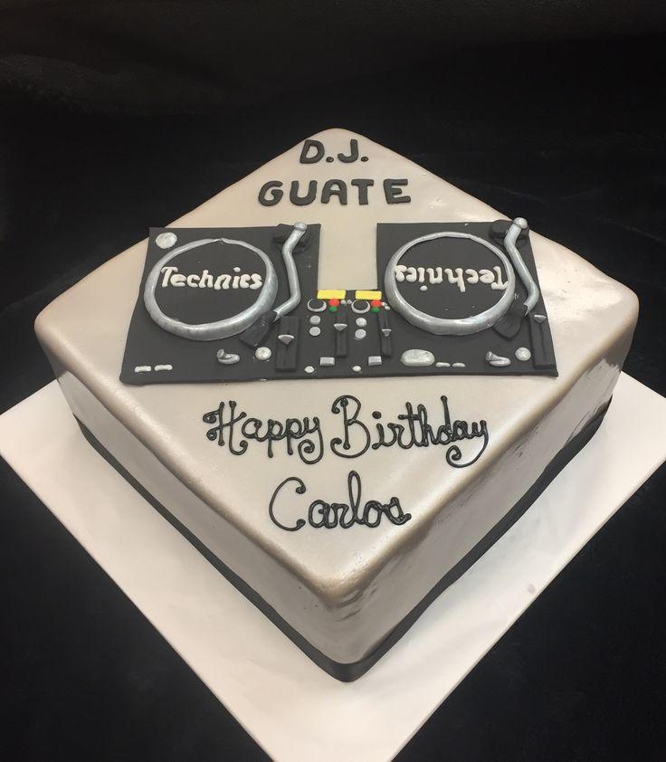 Dj Cakes Birthday Cakes