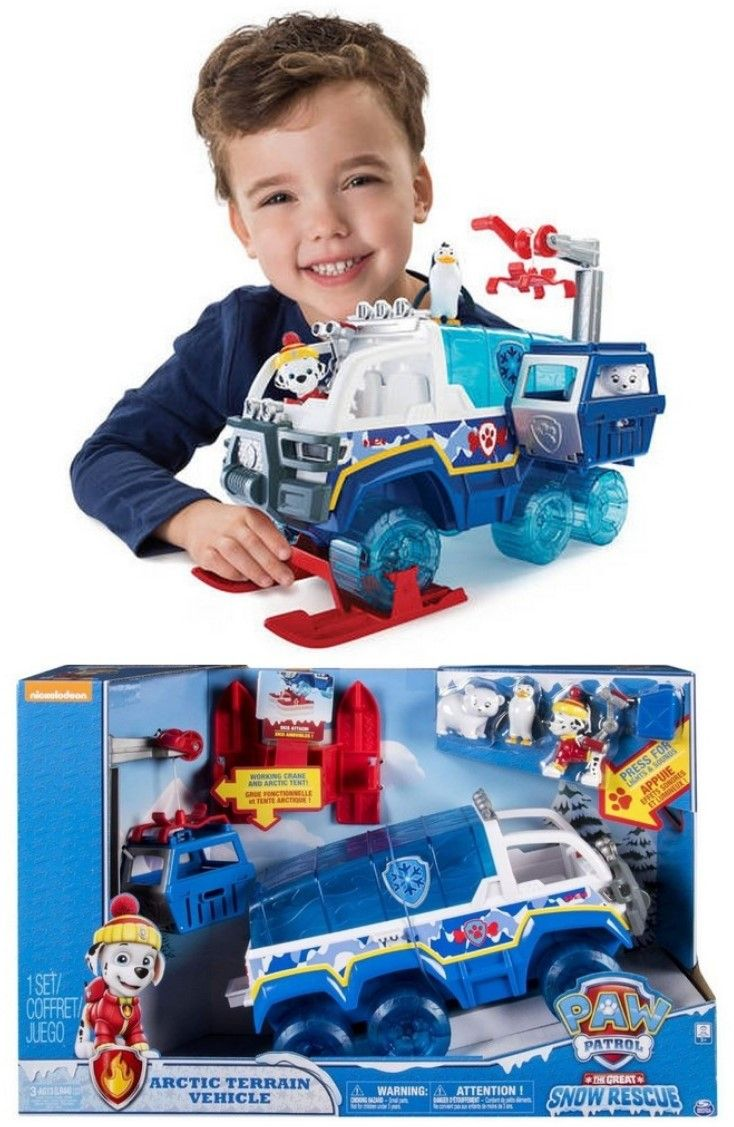 New Paw Patrol Arctic Terrain Vehicle 59 Kmart Paw Patrol Toys