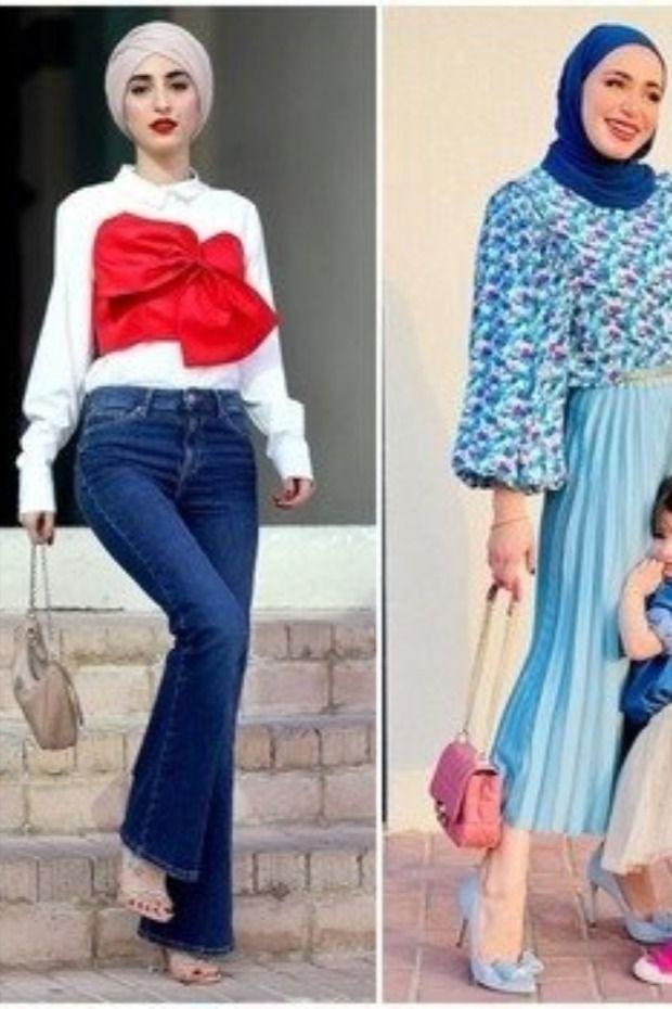 أكثر من ٣٠ إطلالة من موديلات ملابس المحجبات في عيد الأضحى Fashion Style How To Wear