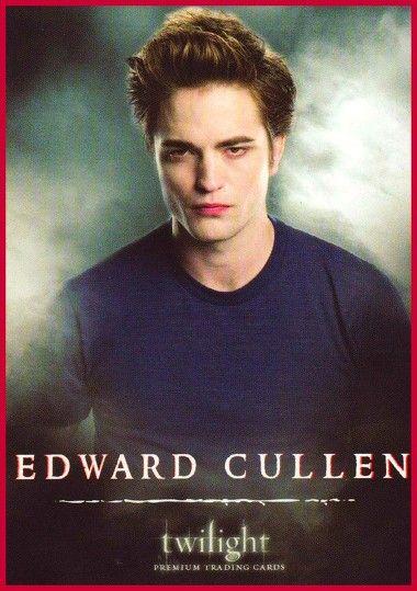 Edward - Twilight trading card