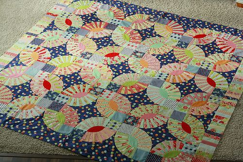 """Love This!  Pattern is """"Gypsy Kisses"""" from the book """"Material Obsession 2"""" by Kathy Doughty and Sarah Fielke"""