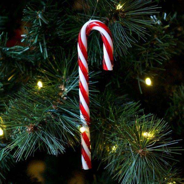Sucre d'orge à suspendre pour Noël  http://www.homelisty.com/deco-de-noel-2015-101-idees-pour-la-decoration-de-noel/
