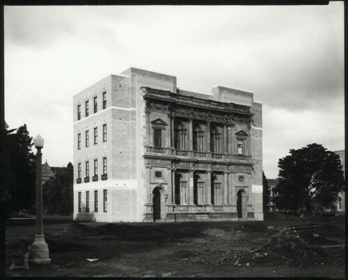 The old Commerce Building at the University of Melbourne (year unknown).