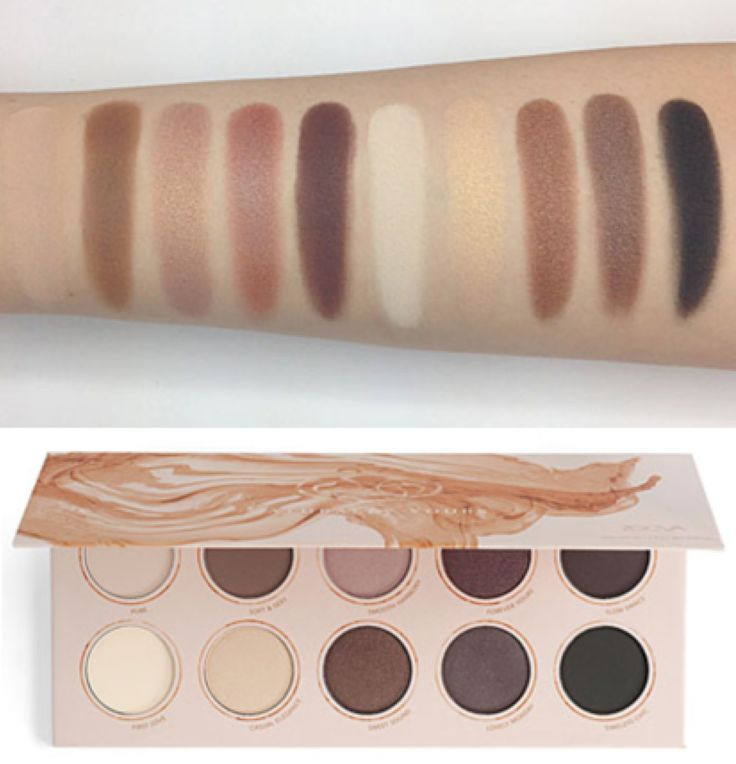 Zoeva Naturally Yours palette is perfect for creating a neutral smokey eye