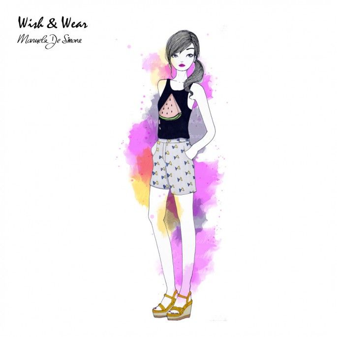 Discover the best outfits illustrated by Manuela De Simone at http://www.manueladesimone.com/blog/