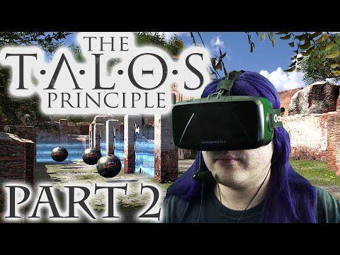 Oculus Rift DK2  Talos Principle -2- Starten der Sigil Suche #vr #virtualreality #oculus #oculusrift #gearvr #htcvivve #projektmorpheus #cardboard #video #videos