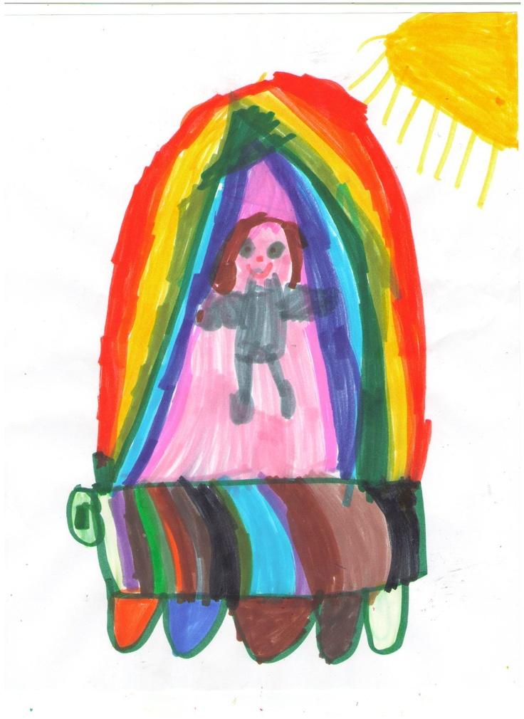 Roni's Rainbow Truck, Nov 23, 2012