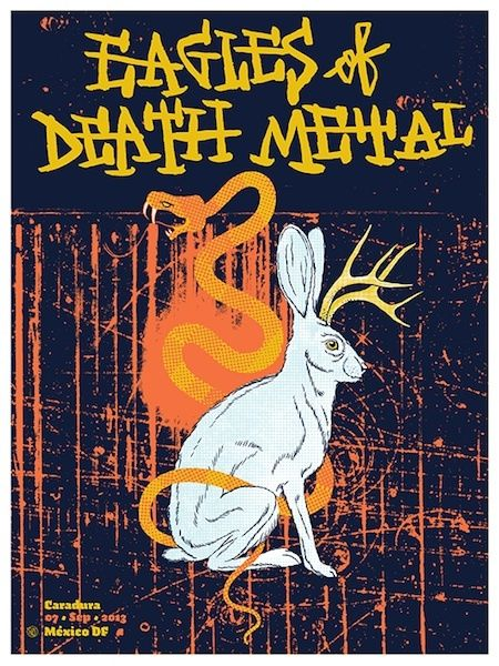 Eagles Of Death Metal - Quique Ollervides