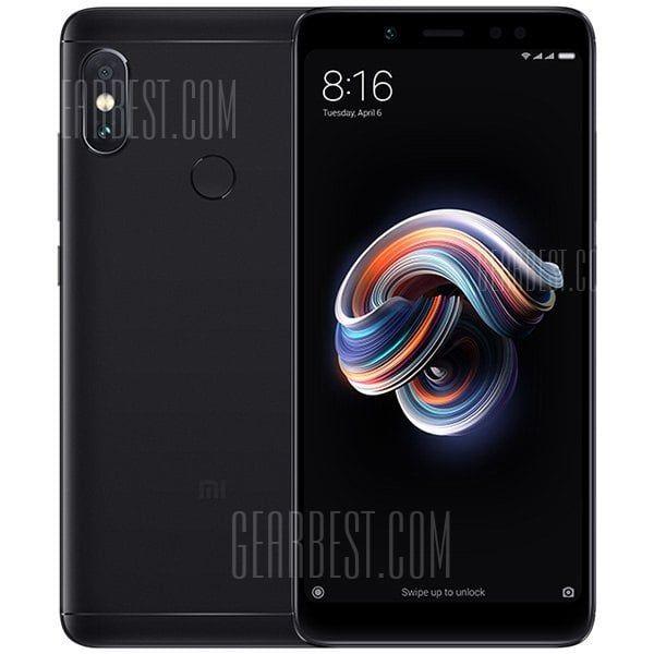 Xiaomi Redmi Note 5 Black 4gb Ram 64gb Rom Cell Phones Sale Price Reviews Celular Smartphone Celular Smartphone