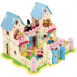 ... e abbiamo sognato di essere principesse nel palazzo regale. Il castello delle principesse completo di personaggi snodabili giocattolo in legno lo trovate su http://www.giochiecologici.it/p/438/castello-delle-principesse