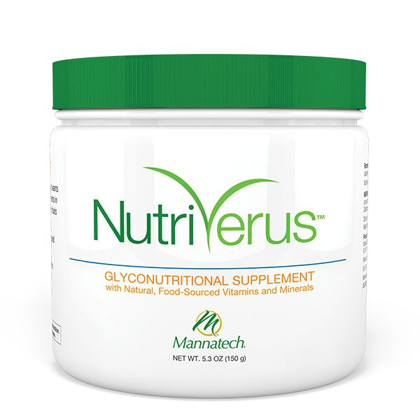 NutriVerus� - Nutrition the way your body wants it - a whole-food matrix of real vitamins, minerals, glyconutrients and antioxidants