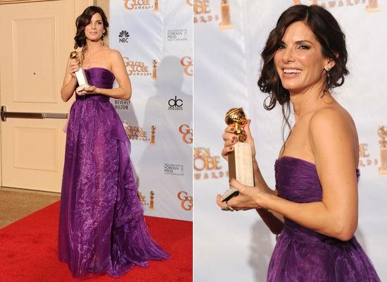 Resultado de imagen para sandra bullock golden globes best actress