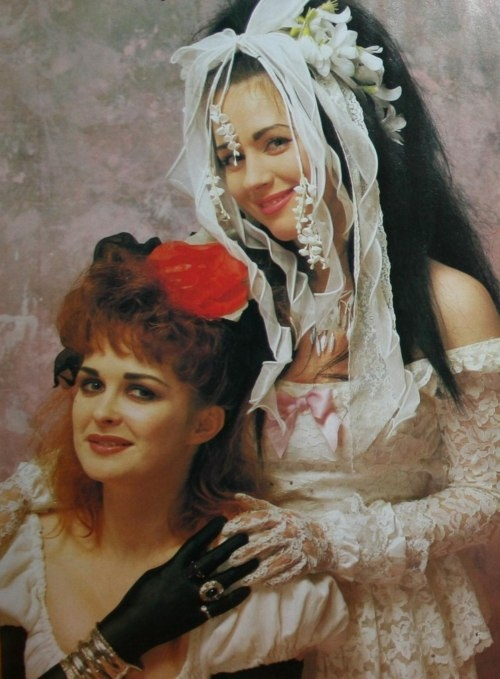 """#Strawberry #Switchblade  +†+  #doom #pop #Rose #McDowall #Jill #Bryson #lethal #candy #lyrics #New #Wave #bubbly #beats #1980s #80s #style #icons +†+  """"SWEETEST TONGUE HAS SHARPEST TOOTH"""" ♥"""