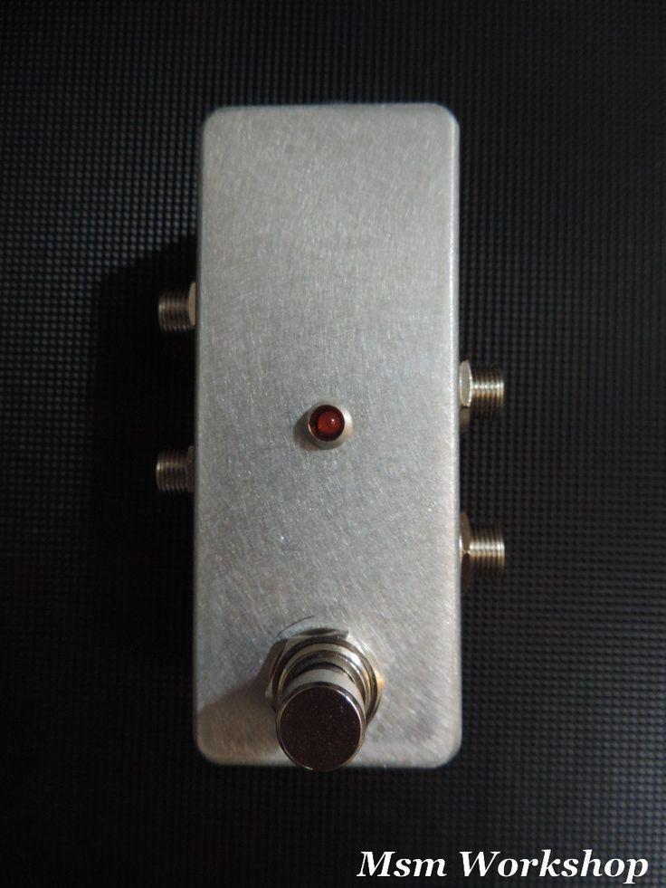 Pédale de boucle True bypass TBB1 mini, Msm workshop. custom made effects loop pedal