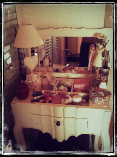 Shabby chic - My dressing table Shabby chic