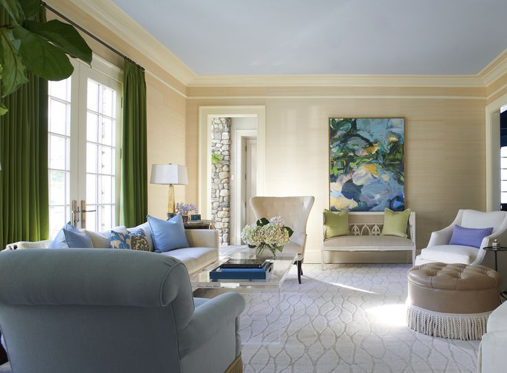 New Cannan Home | Design By Lynn Morgan Design. Condo Living RoomDrawing ...