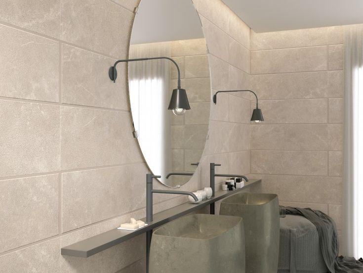 25 beste idee n over taupe badkamer op pinterest logeerbadkamer decoreren toilet kleuren en - Witte steen leroy merlin ...