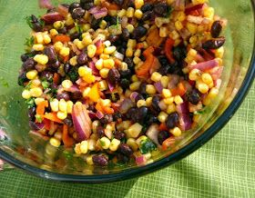Mostly Food and Crafts: Black Bean & Corn Salad