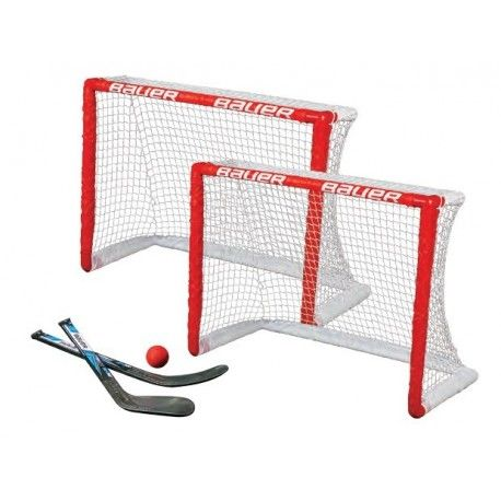 Kit deux mini cages de hockey Bauer