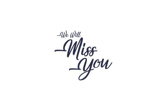 Miss You Farewell Party Template Graphic By Zaenal Abidin4133 Creative Fabrica