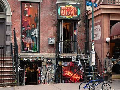 I lived around the corner from St Marks Place, I always loved the buzz of the street, dojo's restaurant and the 2nd hand record store there....ah the memories