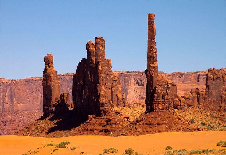 Долина монументов.Аризона
