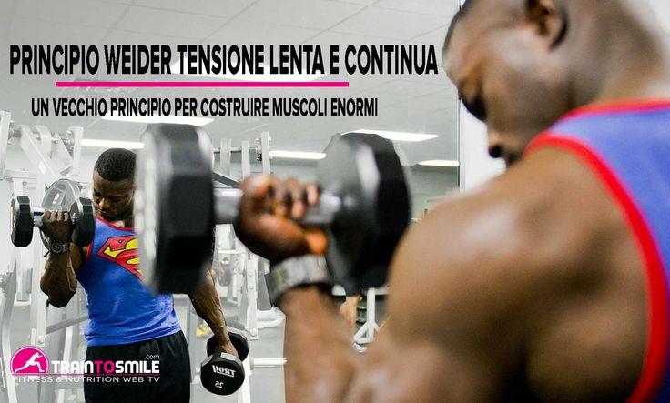 PRINCIPIO WEIDER TENSIONE LENTA E CONTINUA