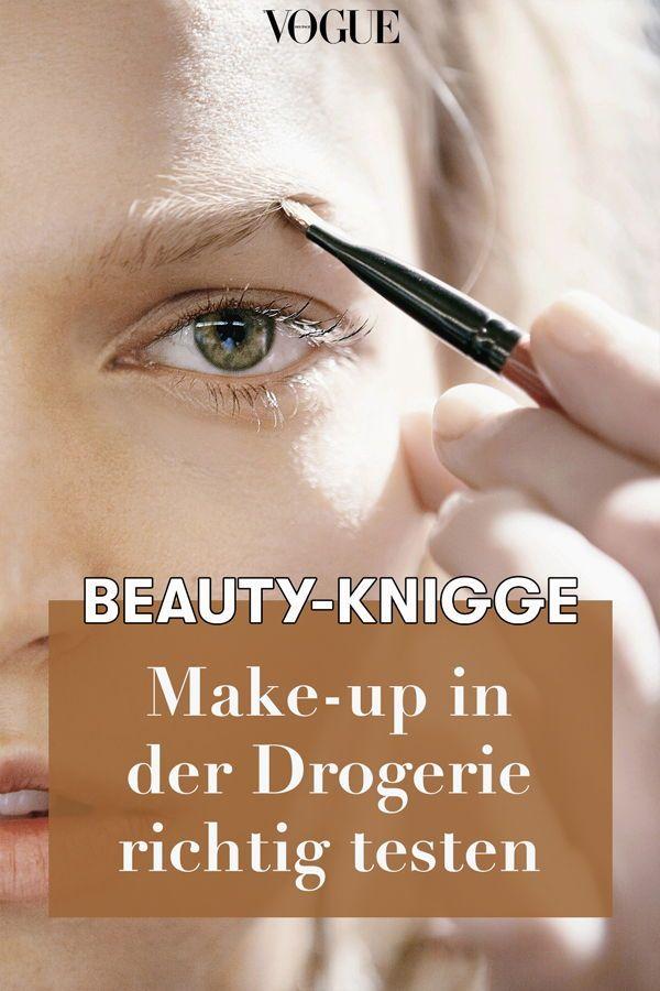 Beauty-Knigge: Make-up in der Drogerie hygienisch testen – VOGUE Germany