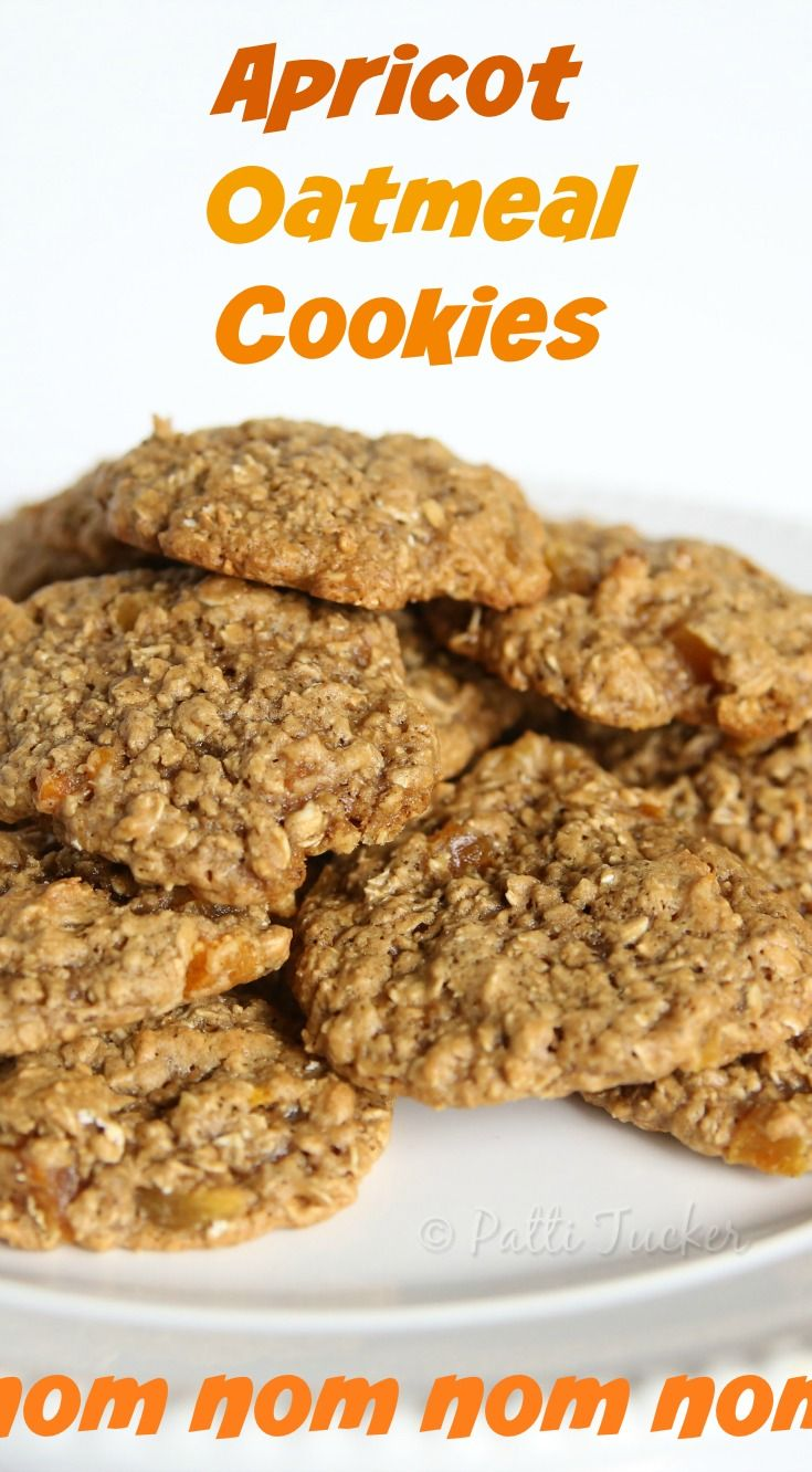 My favorite cookies are…oh, who am I kidding? I love them all. I love cookies! Yet, if I was forced to pick one, it would probably be these oatmeal cookies with dried apricots. There is somet…