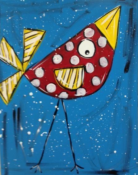bird@heartworks..our birdhouse logo? Similiar anyway..1st birdhouse for Da Designs