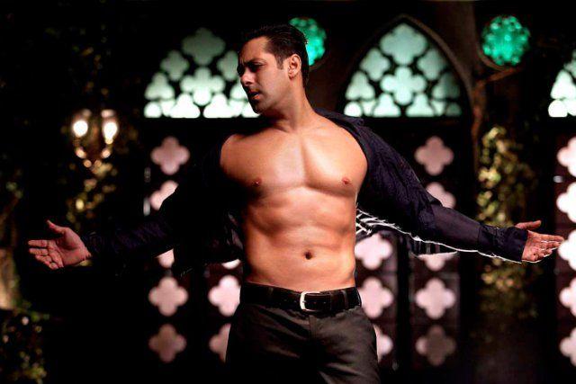 Still of Salman Khan in Bodyguard  also plays in Marigold...amazing movie