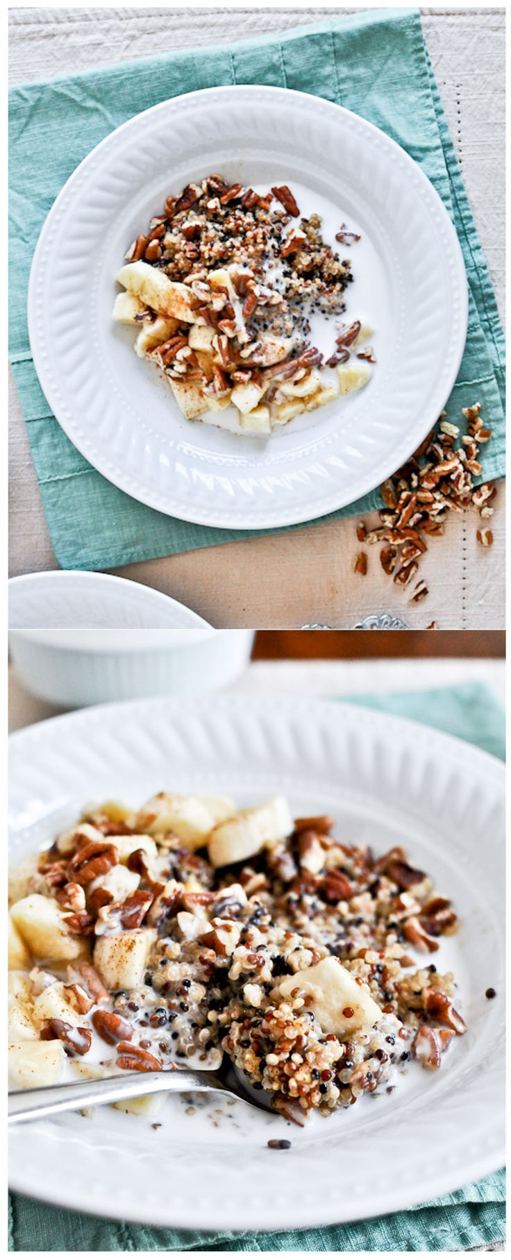 BEST EVER BREAKFAST QUINOA - one of my favorite breakfasts ever by @howsweeteats I howsweeteats.com