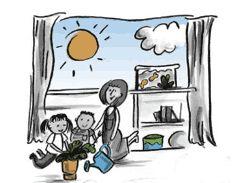 La física y el recreo. ¡Mantente colgado!      inglés     polaco  Al jugar con los péndulos y los columpios, los niños preescolares pueden aprender más sobre la gravedad y la moción (vea los Parámetros del aprendizaje y desarrollo infantil de Illinois