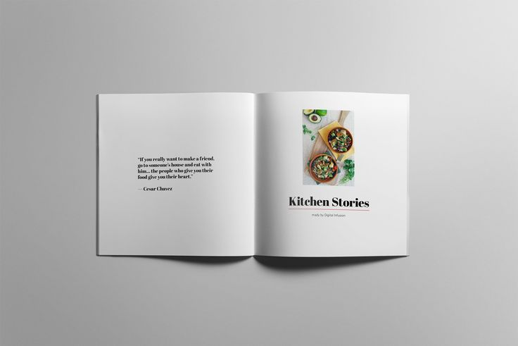 Cookbook - Kitchen Stories - Brochures - 2