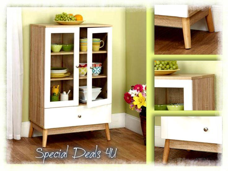 Contemporary Kitchen Cabinet Pantry Cupboard Storage Wood Food Organizer Shelf #ContemporaryKitchenCabinet #ContemporaryClassicMidCenturyModern
