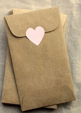 tiny envelopes plaid barn