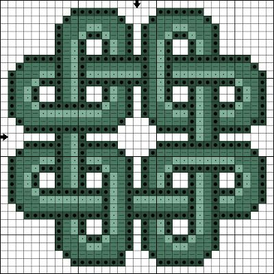 cross+stitch+pattern+'celtic+heart' | ... & Crafty Killers: CRAFTS WITH ANASTASIA - CROSS STITCHED CELTIC KNOT