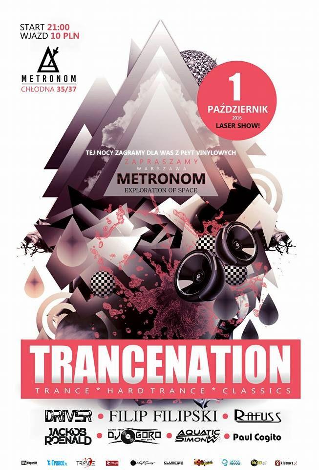 Trancenation - Klub Metronom (01.10.2016)