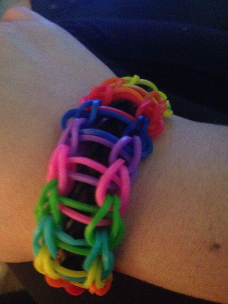 96 best rainbow loom bracelets images on pinterest jelly beans ladder loom bracelets fandeluxe Images