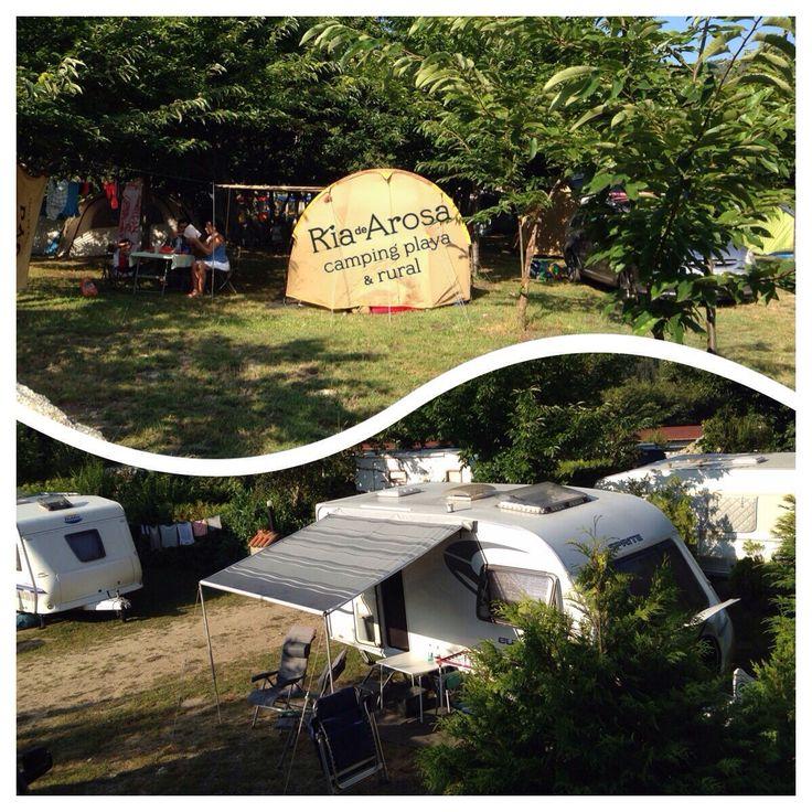 Tienda o caravana pero siempre Camping.  #letsgocamping
