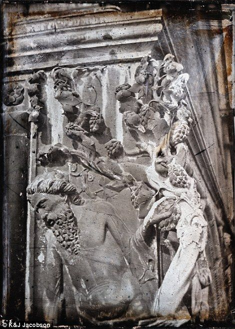 This image of Noah's Vine at Ducal Palace was taken by John Ruskin sometime between 1849 a...