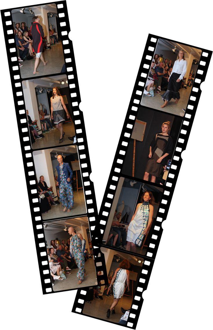 The final fashion show. Designs shown by nina dirix.