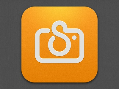 Imagine building a whole icon library off of this one design. It would be sweet!  Spottah Icon