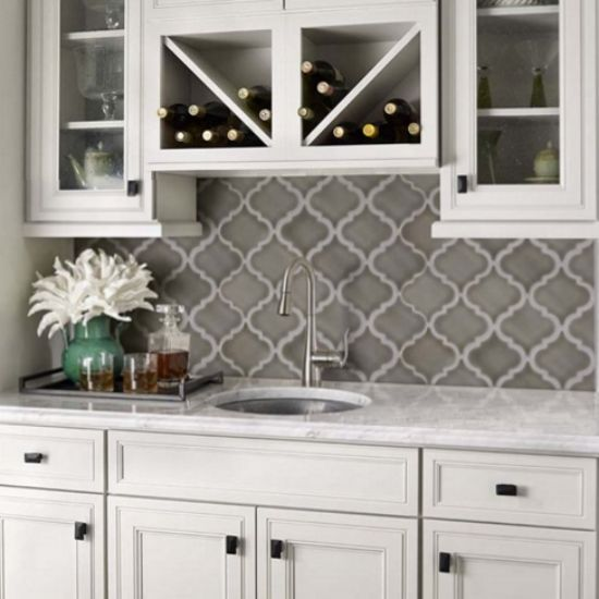 Arabesque Tiles Kitchen Wall: 17 Best Images About Home Design On Pinterest