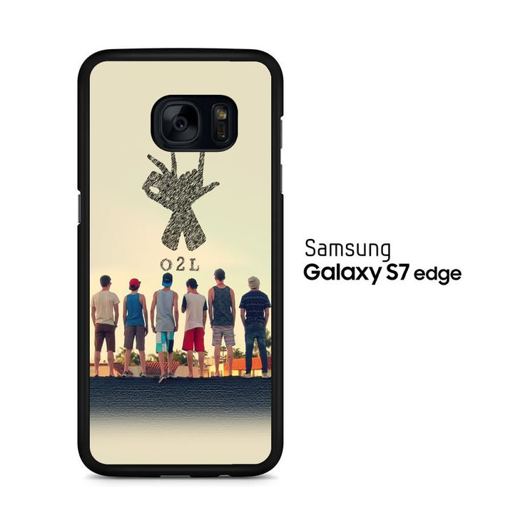 O2l Collage Hand Sign Samsung Galaxy S7 Edge Case